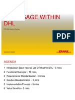 2014 01 OTM SIG Quaterly Meeting 2014 DHL Final