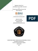 Proposal Magang Bank Bni