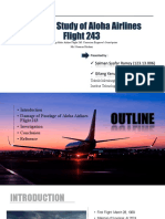 A Failure Study of Aloha Airlines Flight 243 (Boeing 737)