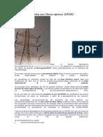 El Cable de Guardia Con Fibras Ópticas