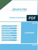 CERAFILTEC Product Brochure