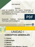 Conceptos Generales Inv