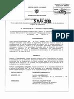 Decreto 432 Del 05 Marzo de 2018