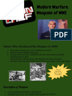 copy of iron chef  weapons of wwi