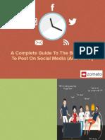 Social Media Guide - Marketing