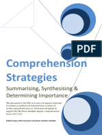 Summarising Synthesing DI