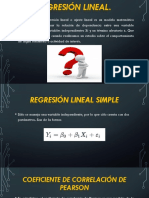regresion lienal