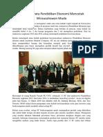 Langkah Nyata Pendidikan Ekonomi Mencetak Wirausahawan Muda