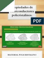 Propiedades de Semiconductores Policristalinos