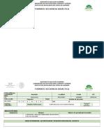 Secuencia Didactica 2018