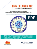 2016 Breathing Cleaner Air Ten Scalable Solutions for Indian Cities