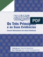 Os Tres Principios e Suas Evidencias Islam
