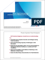 Basic Fault Calculation&Analysis of Balanced Fault