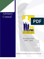 DSPAC Strategic Plan 2010 - 2012
