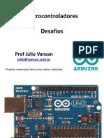 Arduino Projeto 04 Desafios