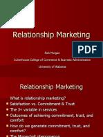 Prof Robert Morgan Relationship Marketing