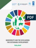 Biodiversity 2030 Agenda