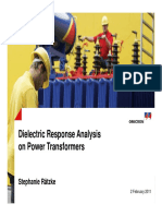 Die Electric Response analysis on Transform to Detect Moisture