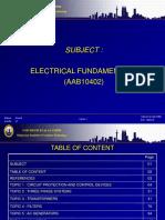 Presentation for Electrical Fundamental 2
