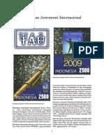 Persatuan Astronomi Internasional