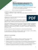 5. Funciones de Los Materiales Educaivos