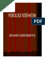 Psikologi Kesehatan [Compatibility Mode]