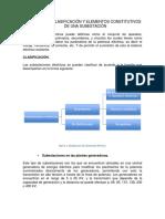 Definicion Clasificacio n y Elementos Constitutivos de Una Subestacio n