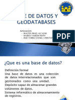 Base de Datos y Geodatabases Grupo 2