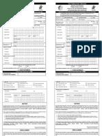 PSA form