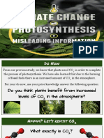 climate change and photosynthesis  1