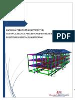 Laporan Struktur Poltekes Karawang