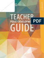 Teacher Policy Development Guide