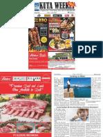 "Kuta Weekly - Edition 578 ""Bali's Premier Weekly Newspaper"""
