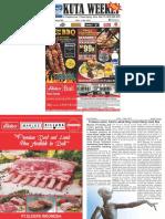"Kuta Weekly - Edition 582 ""Bali's Premier Weekly Newspaper"""