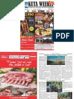 "Kuta Weekly - Edition 581 ""Bali's Premier Weekly Newspaper"""