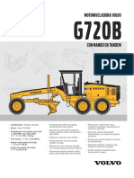 Motoniveladora G720BSpanish