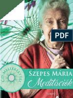 SZEPES MÁRIA - MEDITÁCIÓK +2CD