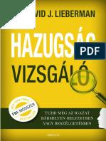 HAZUGSÁGVIZSGÁLÓ - DR. DAVID J. LIEBERMAN