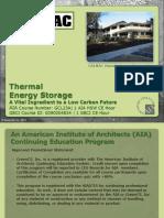 Thermal Storage