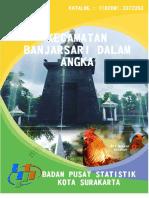Kecamatan Banjarsari Dalam Angka 2017