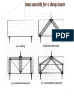 Alternative Truss Models for a Deep Beam