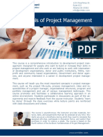 FPM4DEV Course Brochure