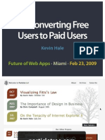 Free to Paid Users