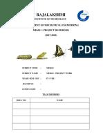 Main Project Handbook (2017-2018)