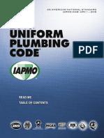 2015 Uniform Plumbing Code