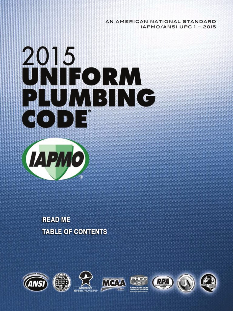 2015 Uniform Plumbing Code | Ventilation (Architecture) | Combustion