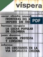 Vispera Año 5 Numero 23 Mayo- Jun 1971