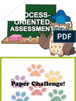 Process Oriented Assessment