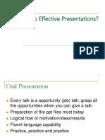 How to Do Academic Presentation