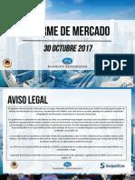 Informe de Mercado30.10.2017